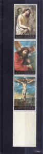 ANGUILLA 1973 EASTER CHRIST STRIP PASQUA CRISTO STRISCIA MNH