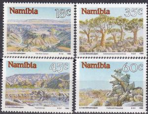 Namibia #662-5 MNH CV $3.35 Z9