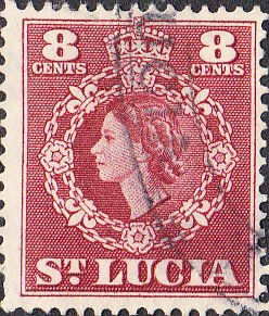 St. Lucia    #163    Used