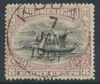 North Borneo  SG 102b Used  perf 15 x 14½ please see scan & details
