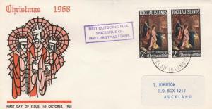 Tokelau #20 - Christmas Issue - 1969 FDC