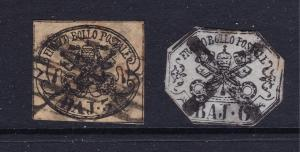 Papal states x 2 old ones used??