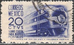 MEXICO Q8, 20c 1950 Definitive wmk 279 Used (955)