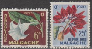 Malagasy #301-2  MNH F-VF  (SU167)