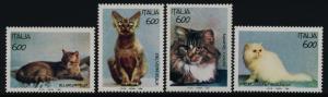 Italy 1924-7 MNH Cats