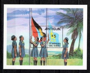 Antigua 1981 Sc 632 MNH Souvenir Sheet Perforate