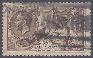Great Britain scott #173 Used