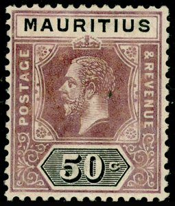 MAURITIUS SG200, 50c Dull Purple & Black, M MINT. Cat £50.