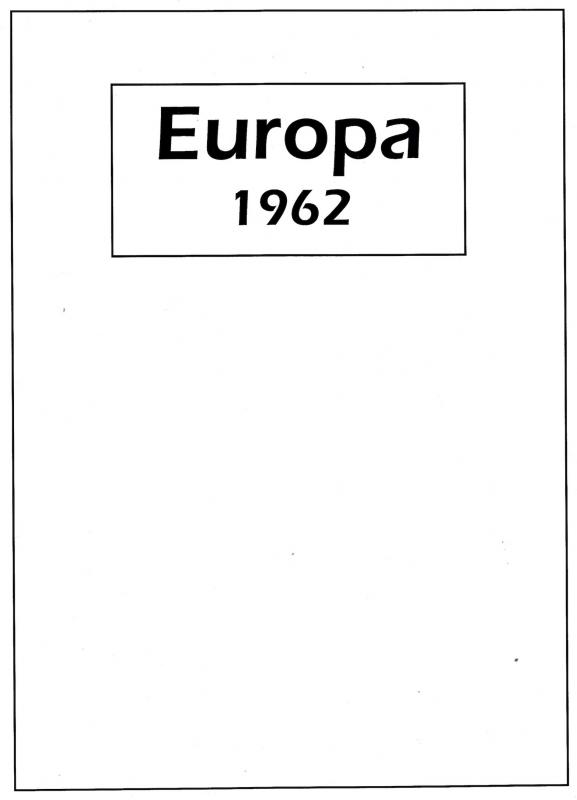 Europa, 1962 Complete Year