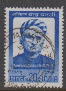 India Sc#484 Used