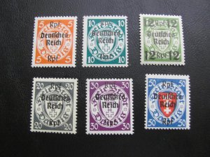 GERMANY 1939 MNH DANZIG  LOT (115)