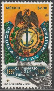 MEXICO 2039, NAVAL MILITARY SCHOOL, CENT. USED. F-VF. (1395)