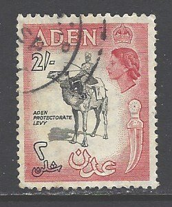 Aden  Sc # 57 used (RRS)