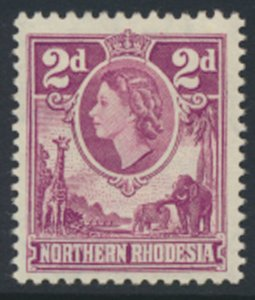 Northern Rhodesia  SG 64  SC# 64 MLH  see detail and scans