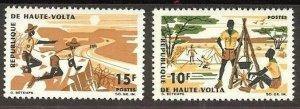 1966 Upper Volta Boy Scouts tent camping
