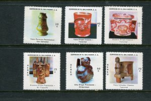 El Salvador #875-7 C388-90 Mint
