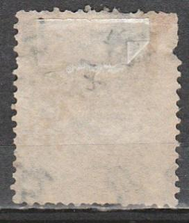 #48 Pl.4 Great Britain Used - 1 shilling QV