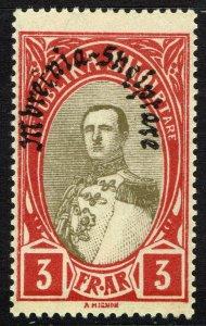 Albania #236  MNH - King Zog I Overprinted (1928)