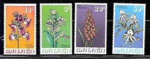 #8500 MALAWI 1975 FLORA  FLOWERS  ORCHIDS YV 247-50 MNH