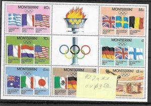 Montserrat #427a MNH - Sourvenir Sheet - CAT VALUE $3.50