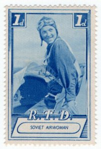 (I.B) Russia Cinderella : Russia Today 1d (Soviet Airwoman)