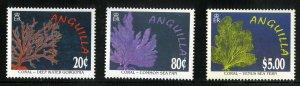 ANGUILLA 941-3 MNH SCV $14.75 BIN $8.00 NATURE