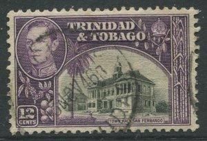 STAMP STATION PERTH Trinidad &Tobago #57 KGVI Pictorial Definitive Used 1938-41