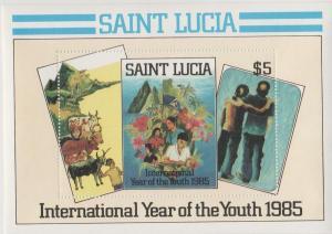 St Lucia #795  MNH F-VF  (SU1541L)
