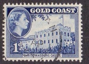 Gold Coast  1952    used  149       1d.    #