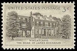 PCBstamps   US #1081 3c Wheatland, MNH, (PCB-38)