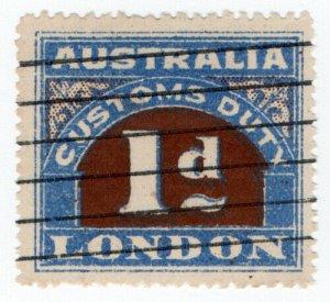 (I.B) Australia Revenue : Customs Duty 1d