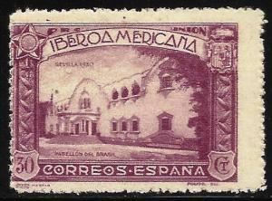 Spain 1930 Scott# 441 MH