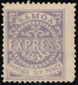 Samoa #4e Express Forgery