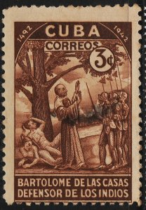 Cuba 1944 450th Anniversary of Discovery of America 3c (1/5) USED