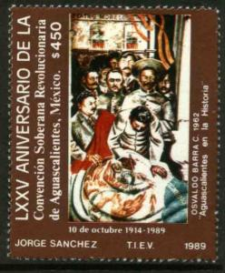 MEXICO 1627 75th Anniv of the Convention of AguascalientesNH