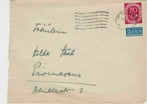 Germany 1952 Heidelberg Cancel Obligatory Tax Aid For Berlin Stamps CoverRf25782