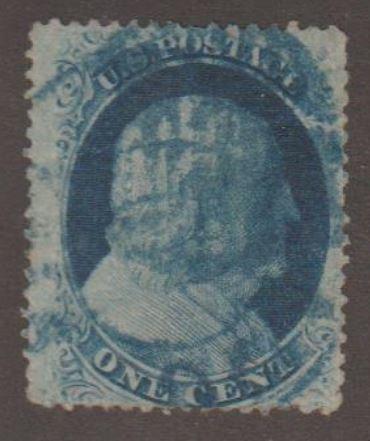 U.S. Scott #24 Franklin Stamp - Used Single
