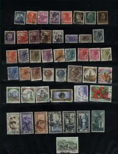 Italy 47 different used  PD