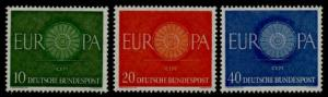 Germany 818-20 MNH EUROPA