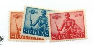 SLOVENIA  B8-10   MNH
