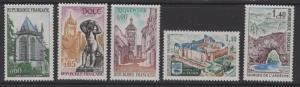FRANCE SG1929/33 1971 TOURIST PUBLICITY MNH