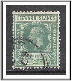 Leeward Islands #47 KG V Used