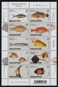 Singapore 1005 MNH Fish