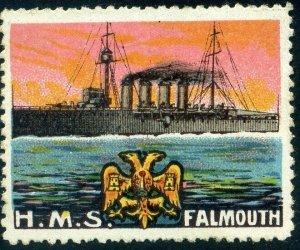 Cinderellas: England Great War Ships - HMS Falmouth (Delandre)