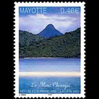 MAYOTTE 2002 - Scott# 182 Mt.Choungui Set of 1 NH