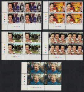 Kenya 40th Anniversary of Queen Elizabeth II's Accession 5v Bottom Left Corner