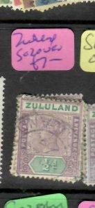 ZULULAND  (P2305B)  QV  1/2D  SG 20   VFU