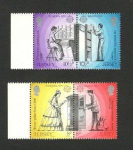 EUROPA CEPT-MNH** - SET- JERSEY - 1979.