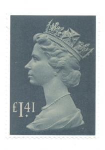 Great Britain Sc MH172 1985 £1.41 QE II Machin Head stamp NH