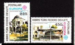 Turkish Cyprus 55-6 mnh set